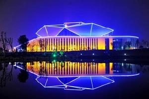 淮南剧院夜景