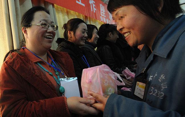 安徽女子监狱举办妇女节开放日活动