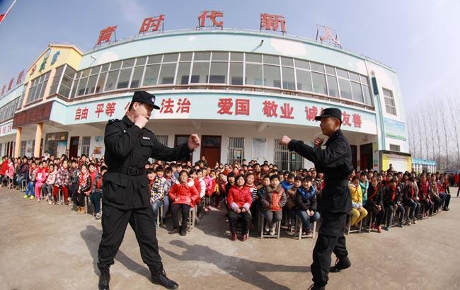 安徽淮北:为留守儿童构筑法制安全网