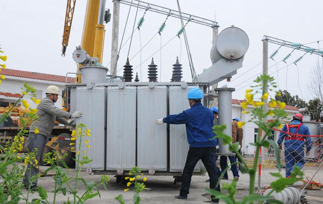 安徽定远:电力增容助力春耕生产