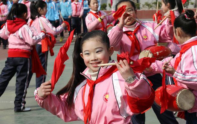 淮北:阳光体育春光美