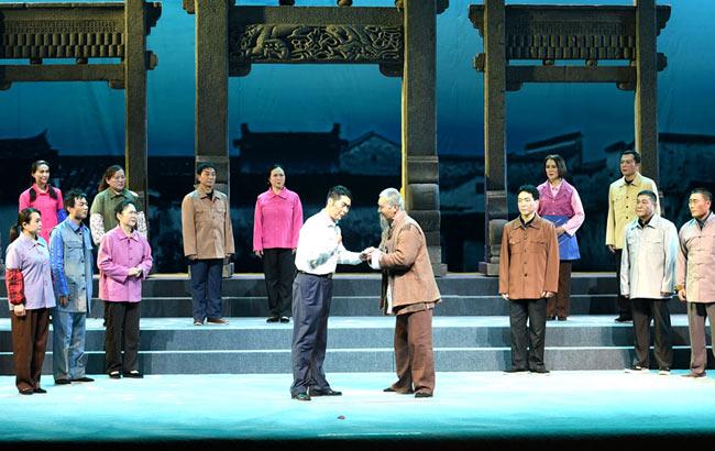 安徽亳州:大型豫剧《印记》首演
